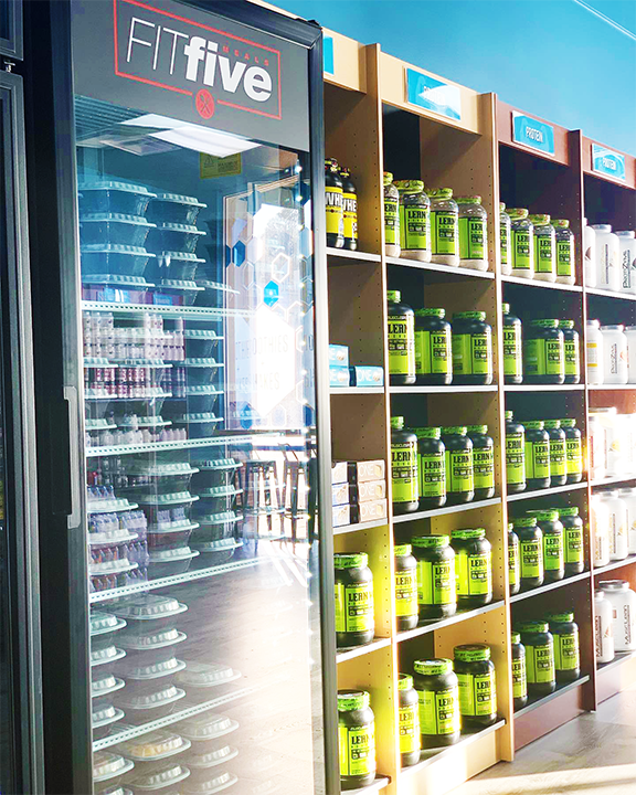 Absolute Nutrition Shelves